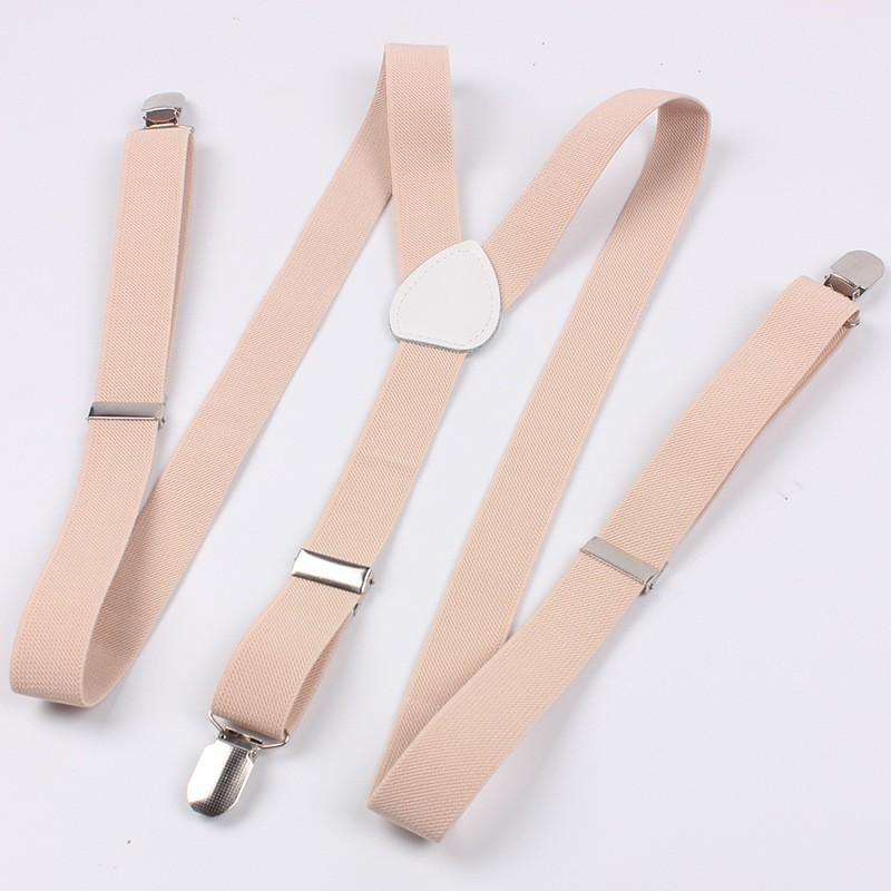 3e8a05f6b Men s Suspenders 4 Clips Adjustable Y-shape Clip-on Braces Straps Belts  Buckle Women Elastic Belts Suspenders
