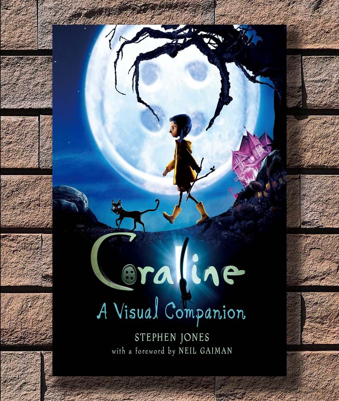Q0500 Posters And Prints Coraline Movie Pop 20x30 24x36 40in Art Poster Canvas Painting Home Decor Painting Calligraphy Aliexpress