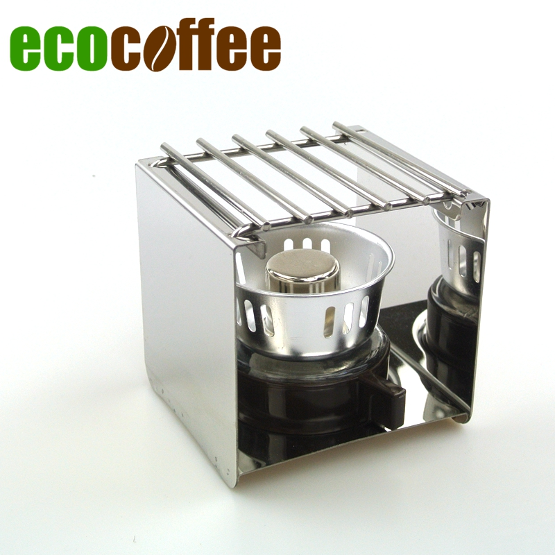 New Arrival Free Shipping Syphon Burner with Rack Espresso Moka Pot Burner with Stand