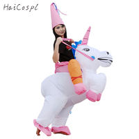 Inflatable Costume Shark Unicorn Dinosaur Funny Animal Cosplay Women Men Fancy Disguise Waterproof Halloween Party