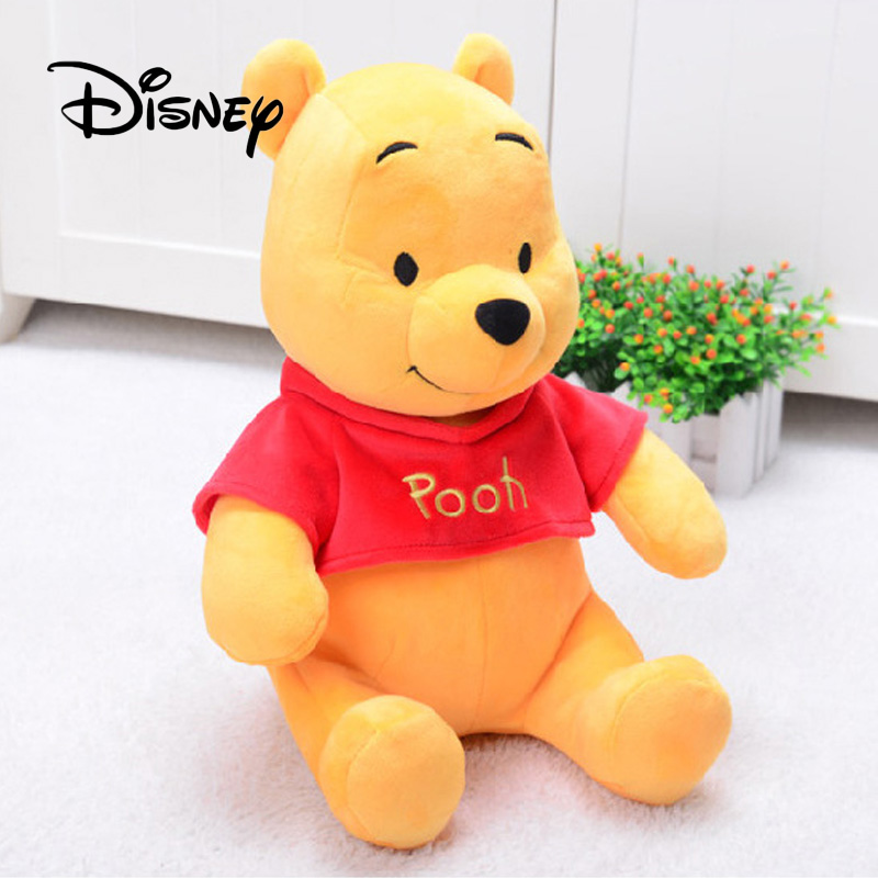Disney Winnie The Pooh Hand Puppet Plush Toy Pooh Stuffed Plush Dolls Toys Birthday Gifts For Children Birthday Halloween Gifts