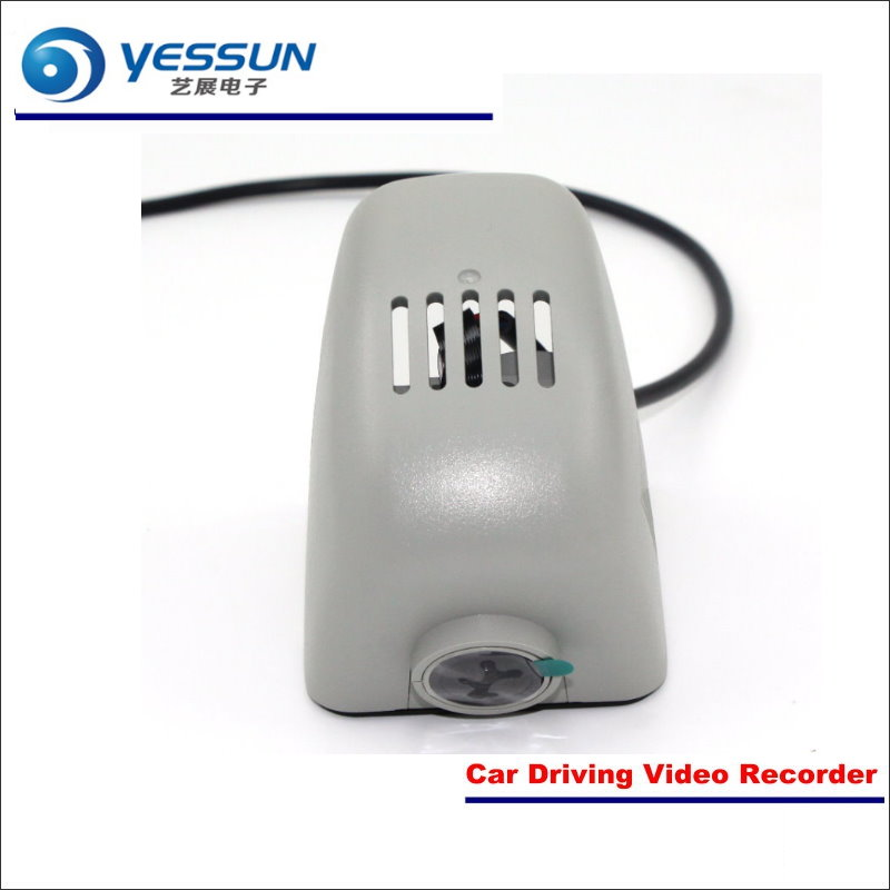 YESSUN Car Front Camera For Audi A4L 2010 2011 2012 DVR Driving Video Recorder Black Box Dash Cam Head Up Plug OEM 1080P WIFI bigbigroad for land rover discovery sport car wifi dvr video recorder front camera dash cam car black box night vision