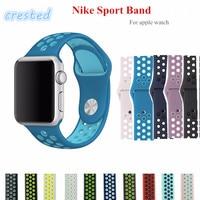 Sport Band For Iwatch 2 Apple Watch NIKE 42mm Strap Bracelet Men 38mm Women Rubber Silicone