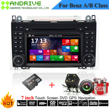 Car Radio DVD Player For Mercedes Benz/Sprinter/W209/W169/W245/Viano/Vito/B-Class/B150/B170/B200/A160/A180 With GPS Navigation image
