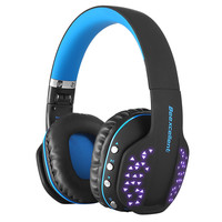 Stereo Earphone LED Wireless Bluetooth Gaming Headset With Mic for PS4 for Xbox Earphone Headsets Music Gamer Gaming Headphone