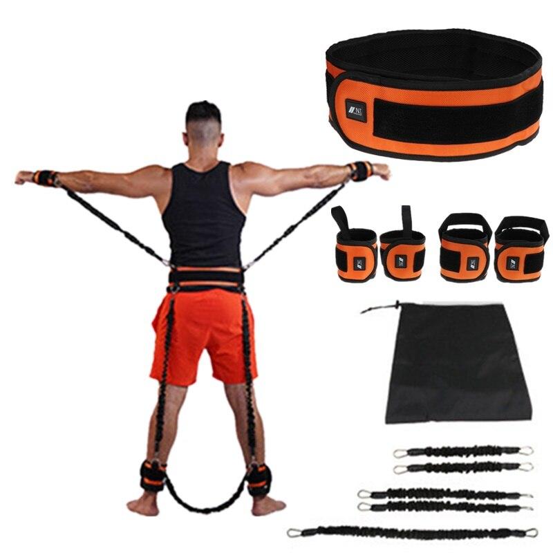 Rebond formateur corde élastique résistance bandes Fitness extenseur basket-ball saut entraînement jambe étirement agilité entraînement Gym Roe