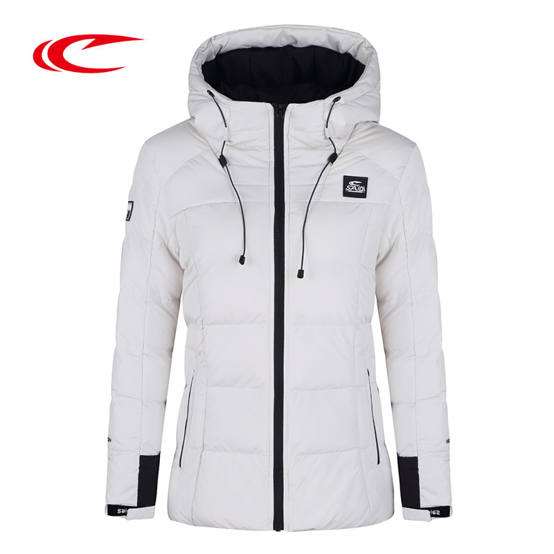 SAIQI 2017 New Warm Hiking Warm Long Sleeve Women Winter Jacket Thick Cotton Coat Outwear 100% Polyester Soft Fabric Down 1014 high quality new winter jacket parka women winter coat women warm outwear thick cotton padded short jackets coat plus size 5l41