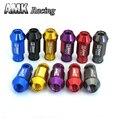 AMK JDM Aluminio Billet racing-D1spec Wheel Racing Tuercas P: 1.5, L: 52mm 20 unids/set 7075-L-1.5