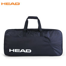 Большая вместительная теннисная сумка, рюкзак для бадминтона для мужчин и женщин, Черная спортивная сумка для ракетки, аксессуары для тенниса