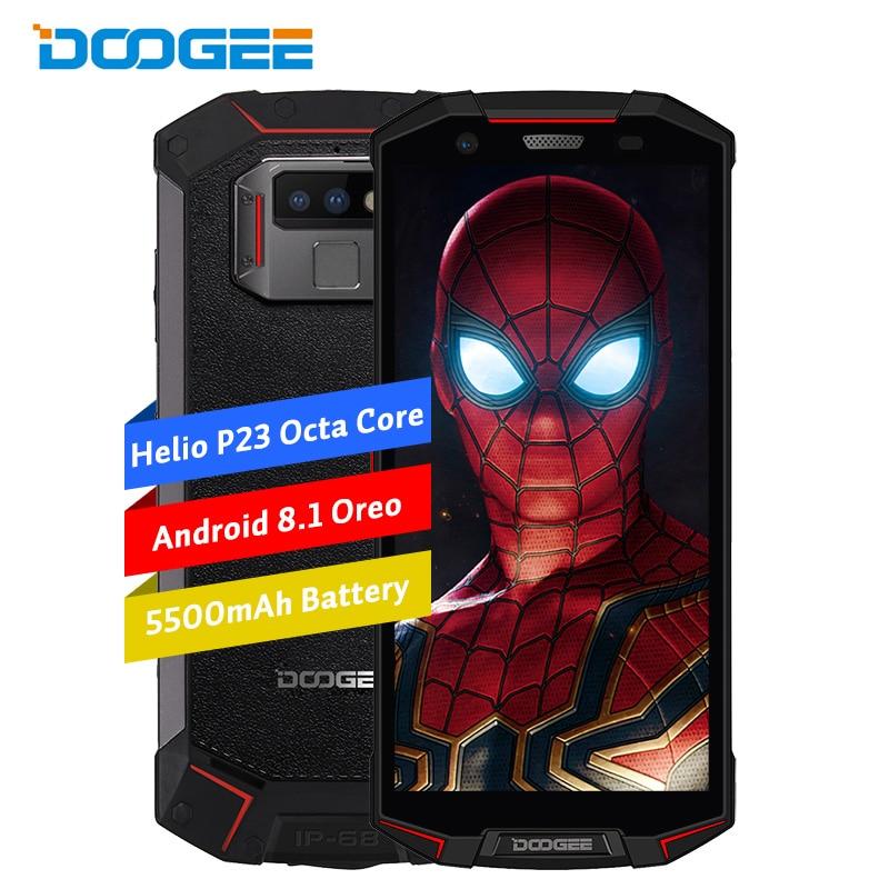 Doogee S70 Lite 4G LTE 5,99 дюйма 18:9 Смартфон Android 8,1 Oreo Octa Core 4G + 64G IP68 Водонепроницаемый ударопрочный телефон Face ID NFC