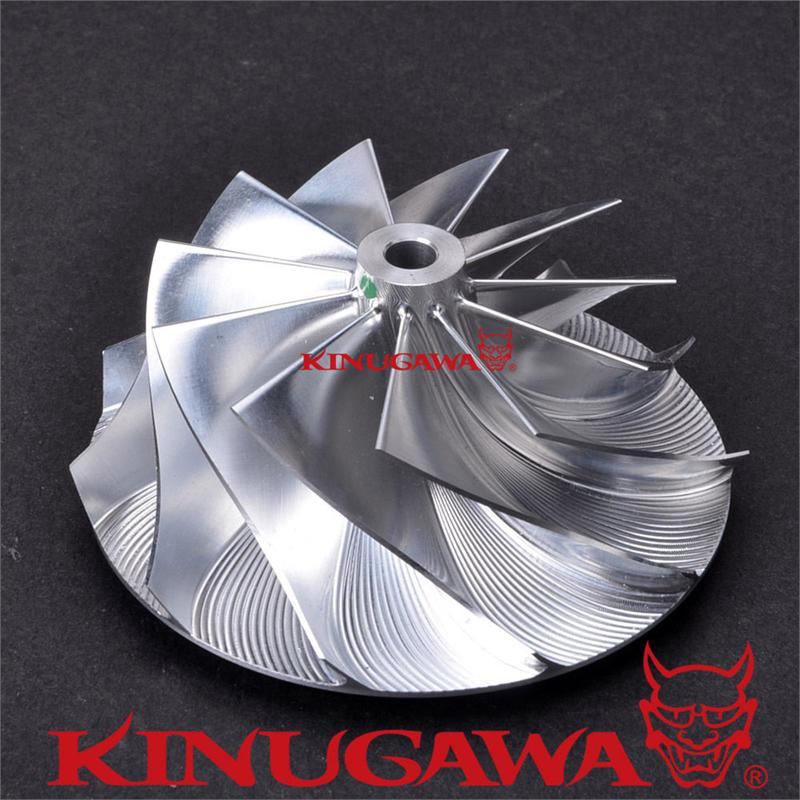 Kinugawa Turbo Billet Compressor Wheel 60.22/82.04mm 6+6 for Garrett GT4082 for Ford Power Stroke 6.0L