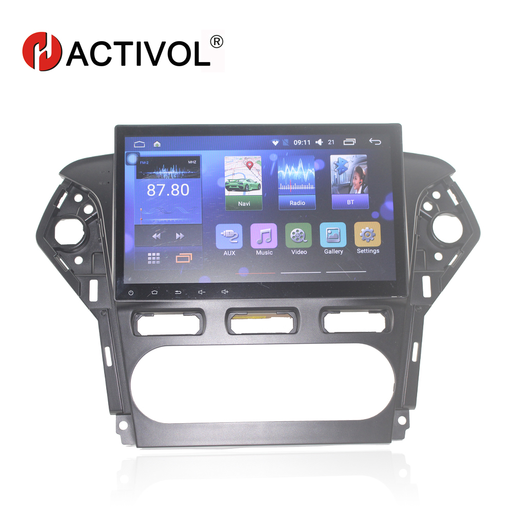 HANG XIAN 10.2 car radio for Fordi Mondeo 2011-2012 android 6.0.1 car dvd player with bluetooth,Mirror link,support DVR