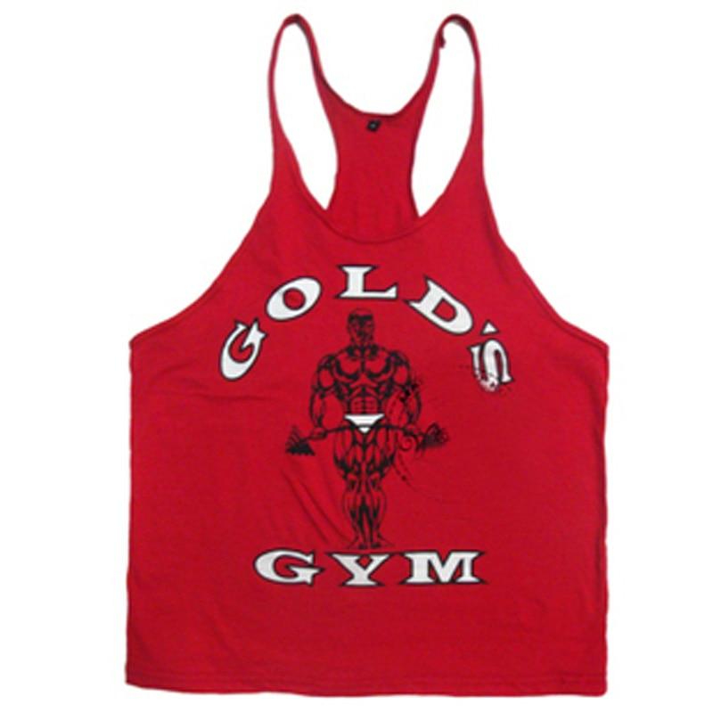 2019 rompi gymvest binaraga pakaian dan kebugaran pria tank top - Pakaian Pria - Foto 5