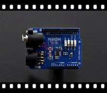 100% Подлинная DMX Щит/плата Расширения модуль Совместим с Arduino 1.0 DMX-Ведущее устройство/работа в DMX512 сети