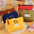 New Retro Style Women Coin Bag Canvas Money Purse Mini Fashion Key Holder Card Wallet