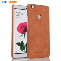 For Xiaomi Mi Max Case Frosted Genuine Cow Leather Hard Back Case Cover For Xiaomi Mi