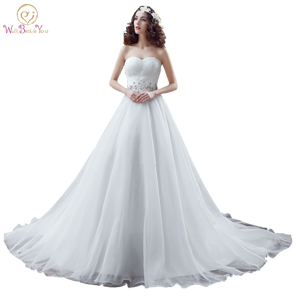 100% Real Images Ball Gown Wedding Dresses Beaded Sequin