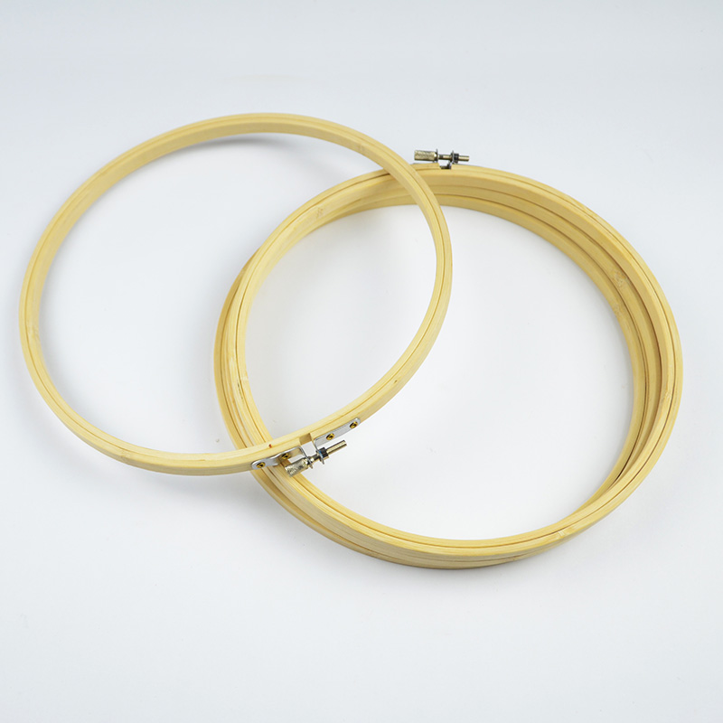 8 cm mini embroidery bamboo hoop chinese cross stitch frames rround small hoops arts crafts tool