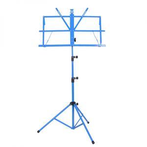 Image 2 - מתקפל מוסיקה חצובה Stand מחזיק אלומיניום סגסוגת Stand מחזיק גובה מתכוונן עם תיק נשיאה עבור כינור גיטרה מכשיר