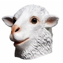 цены latex animal head mask Goat Mask Halloween party Mask
