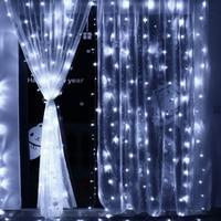 4,5 mt * 3 mt 300 LED Eiszapfen Lichterketten Weihnachts weihnachtsfee Lichter Outdoor Home Für Hochzeit/Party/vorhang/Garten Dekoration
