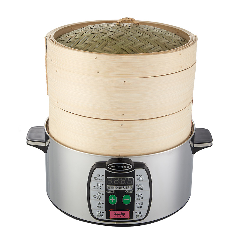 Cooking Pot Steamer ~ Double boilers steamer pot bamboo steaming cooking