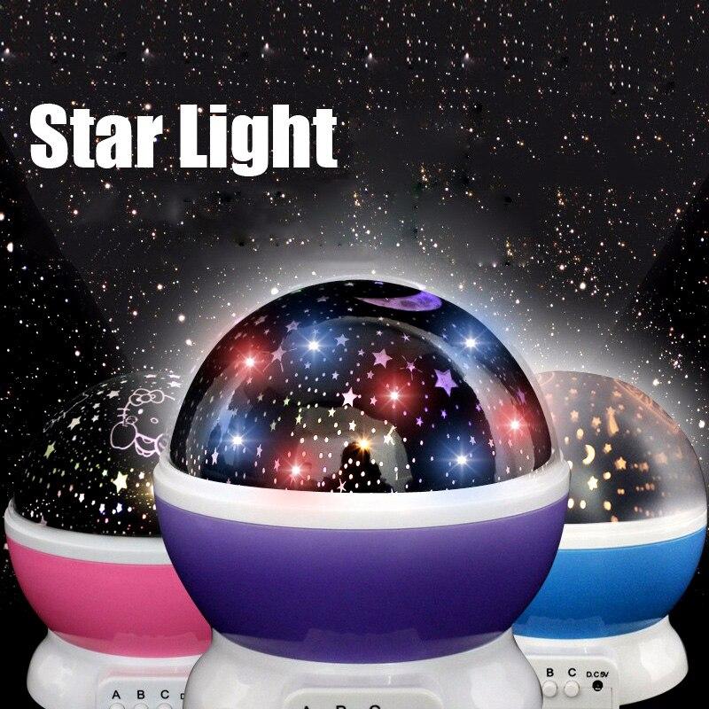 Cartoon Star Projector Night Lamp Led light for Children ...