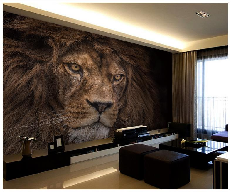 3d Wallpaper Custom 3d Murals Wallpaper Animals Wall Paper