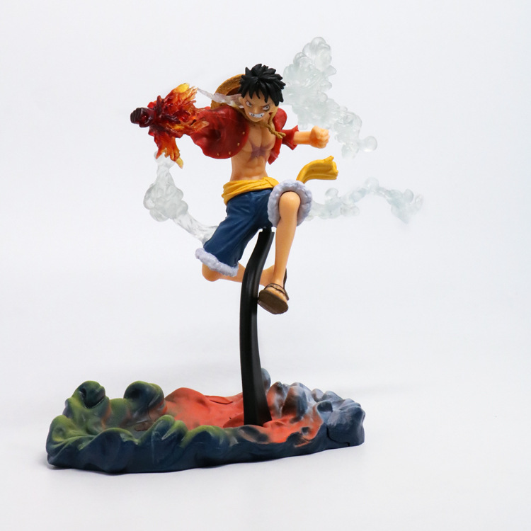 Huong Anime 18CM One Piece Gear Second Luffy OnePiece PVC Figure Model Toy Collectible Gift