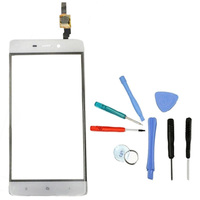 LINGWUZHE Front Glass Panel Replacement For Xiaomi Hongmi Redmi 4 5 Inch With Repair Tools Mobile