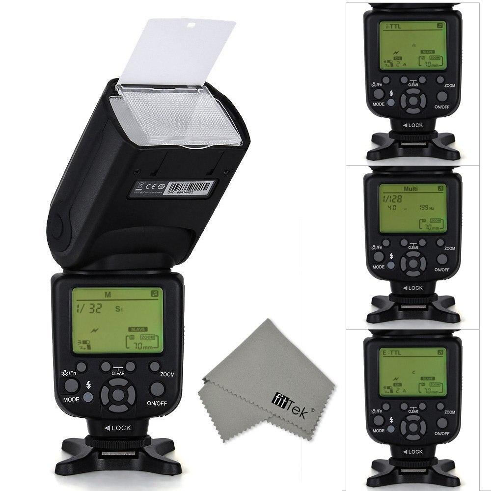 TRIOPO TR-988 Professional Speedlite TTL Camera Flash with High Speed Sync for Canon and Nikon Digital SLR Camera профессиональная цифровая slr камера nikon d3200 18 55mmvr