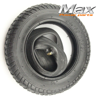 10x2 Inner Tube + Tire Trike Roadster PREMIUM Heavy Duty 10 x 2 Tire Tube for Bike Tricycle Baby Stroller 3 Wheel Bicycle