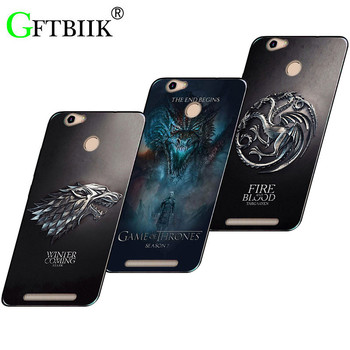 Cute Cartoon Case For Leagoo Shark1 Leagoo Shark 1 Soft Silicone Case Fashion Printed Cover Game of Thrones 7 New