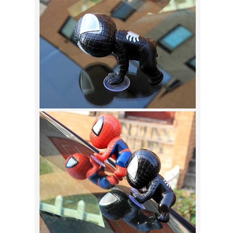 Auto Spider Man Toy Climbing Spiderman Window Sucker Spider-Man Doll Car Decor