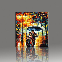 цена Wall Art Oil Painting On Canvas 40x50cm Carriage Love Home Decorative Pictures DIY Painting By Numbers Canvas Oil Paintings в интернет-магазинах