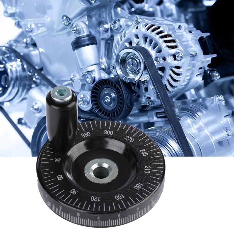 1 шт. 8x63 мм твердый круглый бакелитовый масштаб фрезерная ручка маховик токарный станок с ЧПУ шлифовальный станок аксессуары 3d принтер ручное колесо