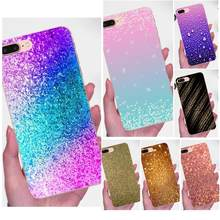 New Style Sparkle Glitter Gold Bling For Huawei P7 Honor 4C 5A 5C 5X 6 6C 6A 6X 7 7X 8 9 V8 V10 Y3II Y5II Y6II G8 Play Lite(China)