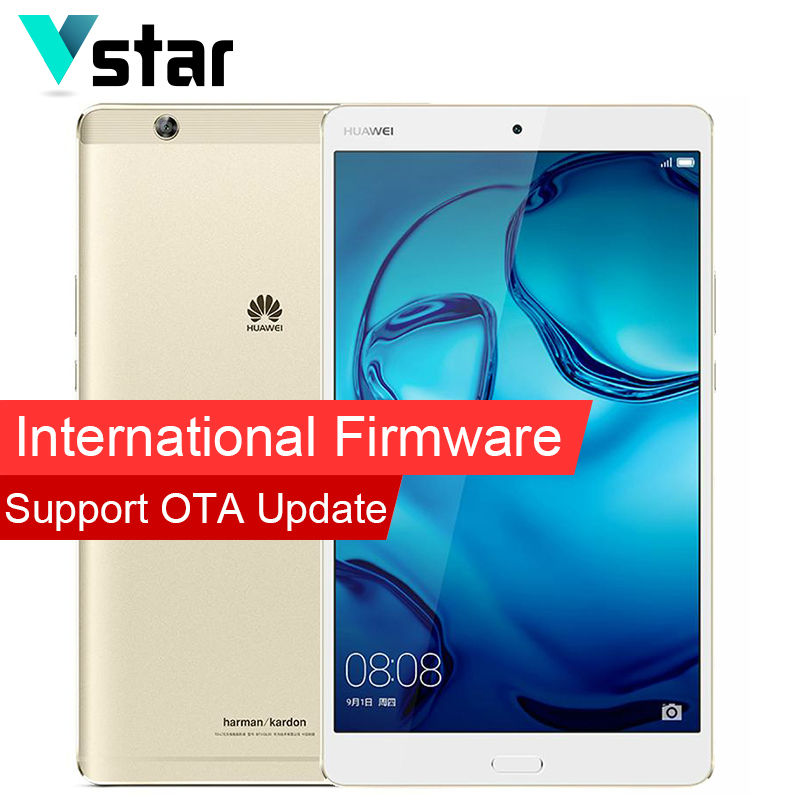 International Firmware Huawei MediaPad M3 4GB 32GB WiFi 8 4 inch Tablet PC 2650 1600 Android