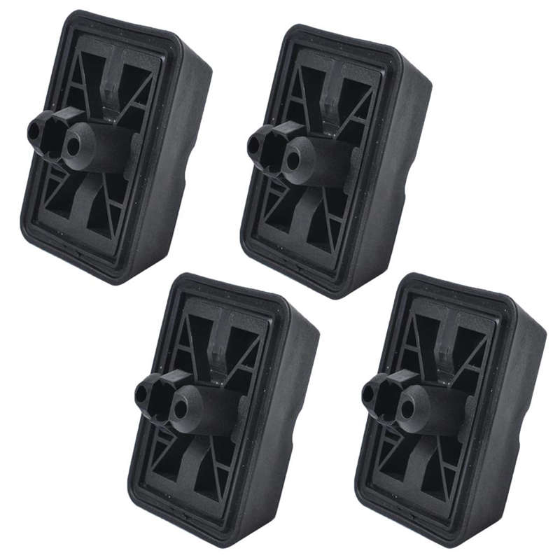 4 Pieces Jack Point Support Plug Lift Block For Bmw 3 6 7 E Series 51718268885 Black