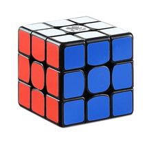 Dayan Zhanchi 2018 Magic Cube 3x3 Speed Puzzle Cube Intelligent Toys for Competition Challenge - 3 Colors цена