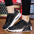 2017 Leisure Shoes Woman Lover Casual Sport Breathable Unisex Air Mesh Shoes Couple Walking Lightweight Zapatos Corrientes