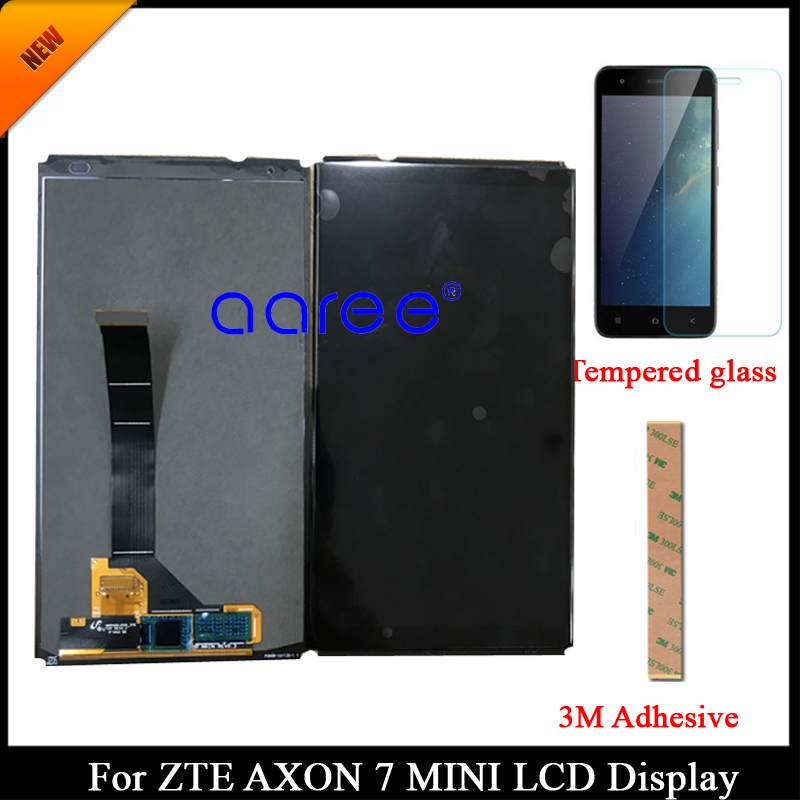 100 tested AMOLED Original LCD For ZTE Axon 7 Mini For ZTE Axon 7 Mini b2017