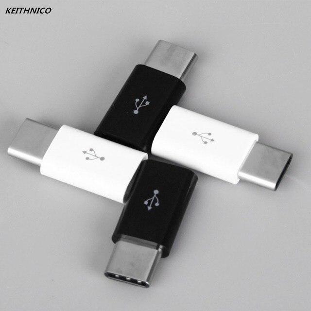 4 Pcs מיני USB 3.1 סוג C זכר למייקרו USB נקבה מתאם ממיר מחבר טעינת נתונים סנכרון העברת עבור xiaomi Huawei