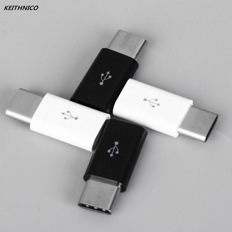 4PCS Mini USB 3.1 Type C Male to Micro USB Female Adapter Converter Connector Charging Data Sync Transfer For Xiaomi Huawei universal plastic usb male to micro usb data sync