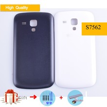 For Samsung Galaxy Trend Duos S7562 7562 S7560 7560 Housing Battery Cover Back Cover Case Rear Door Chassis Replacement все цены