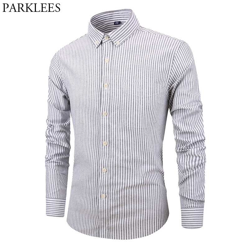 Front Row Mens Slim Fitting Long Sleeve Casual Checked Cotton Button Down Shirt