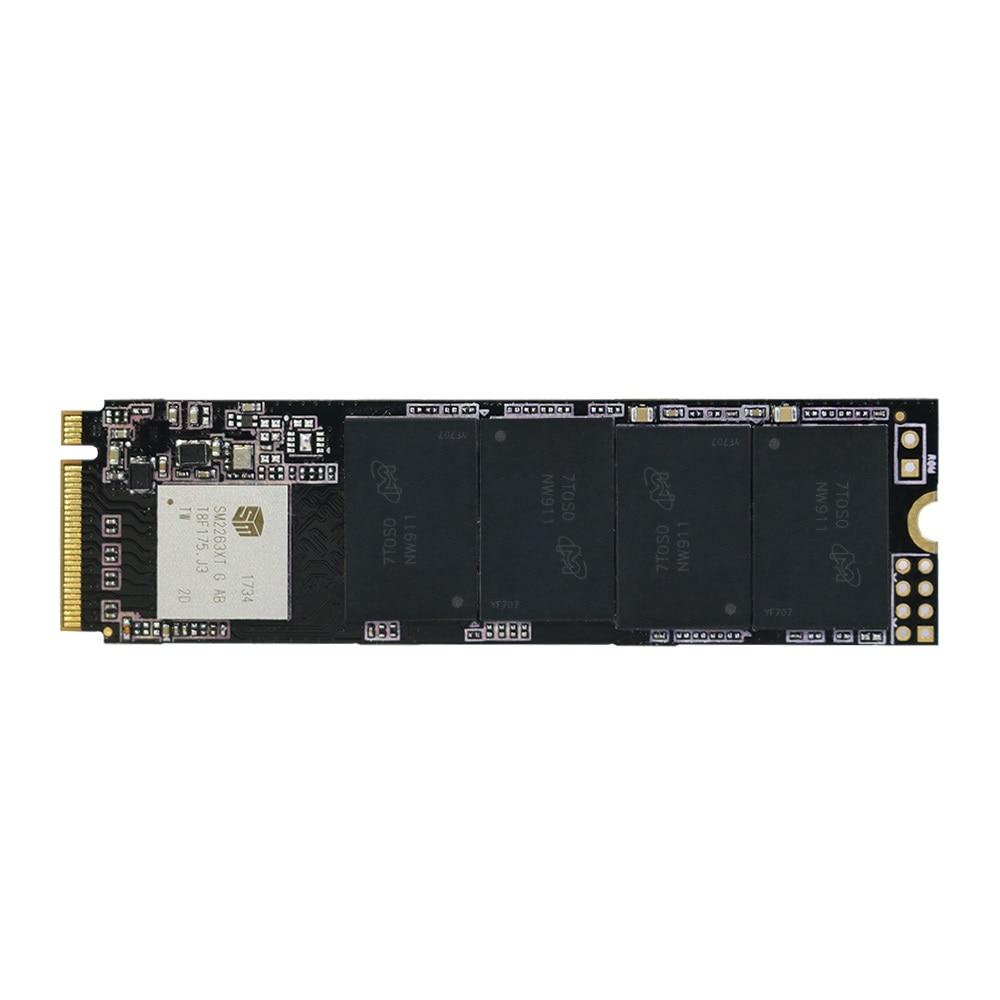 Nouveau KingSpec 2280mm PCI-e Signal Gen3.0x4 NVMe M2 SSD 1 tb Interne Disque Dur HD SSD M.2 1 tb disque dur pour Macbook Air 2013