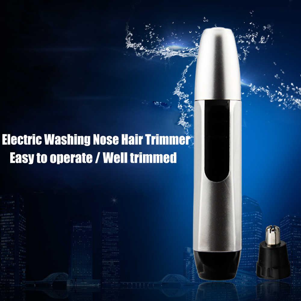 鼻毛トリマー鼻ウール実装鼻毛カット男性のための洗浄トリマークリッパークリーニング耳鼻耳と眉毛トリマー