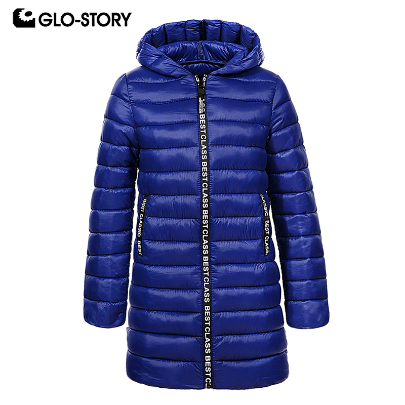 GLO STORY Envío de Hungria niños niñas Streetwear otoño invierno largo Parkas ligeros niños chaqueta con capucha abrigos con Fur7372-in Plumíferos y parkas from Madre y niños on AliExpress - 11.11_Double 11_Singles' Day 1