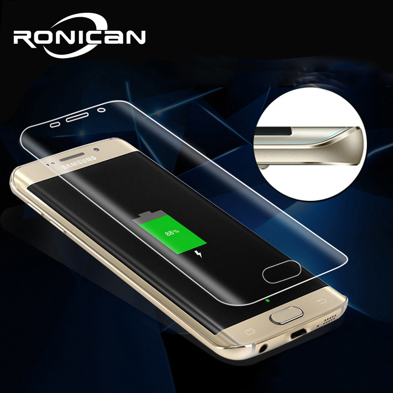 3D Full Coverage Curved Screen Protector For Samsung Galaxy S7 Edge S6edge S6 Edge Plus S8 Plus Soft PET Not Tempered Glass Film